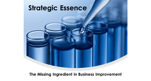 Strategic Essence: The Missing Ingredient in Business Improvement
