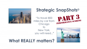 Strategic SnapShots Part 3 - Performance Scoring