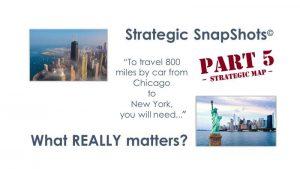 Strategic SnapShots: What REALLY Matters - Part 5 Strategic Map