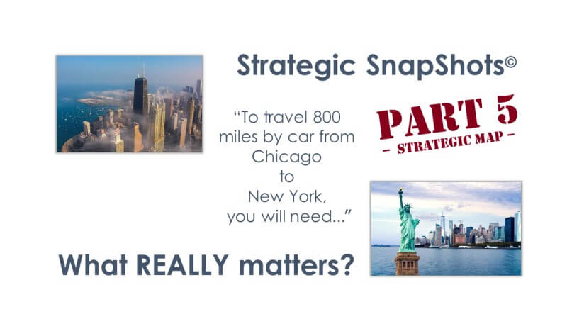 Strategic SnapShots: What REALLY Matters - Part 5 Strategic Map